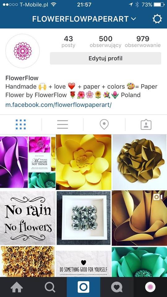 instagram przykład