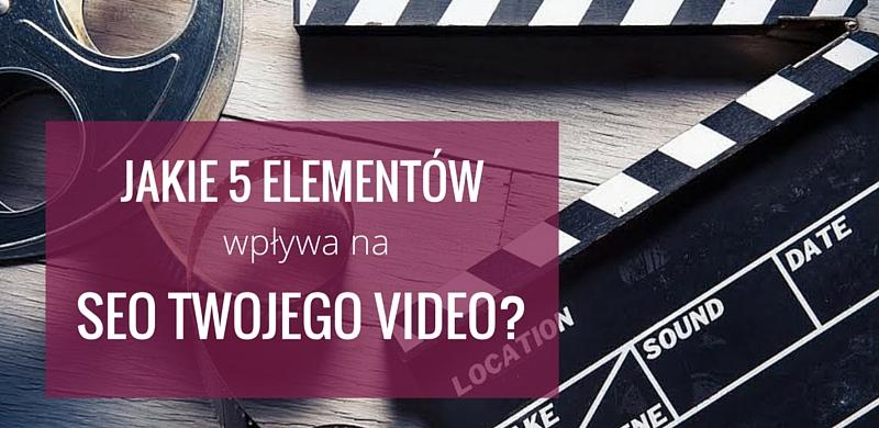 SEO wideo wideomarketing