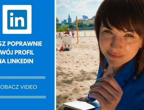 TV: LinkedIn – Jak opisać swój profil?