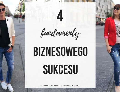 4 FUNDAMENTY biznesowego sukcesu. Czy masz je wszystkie?