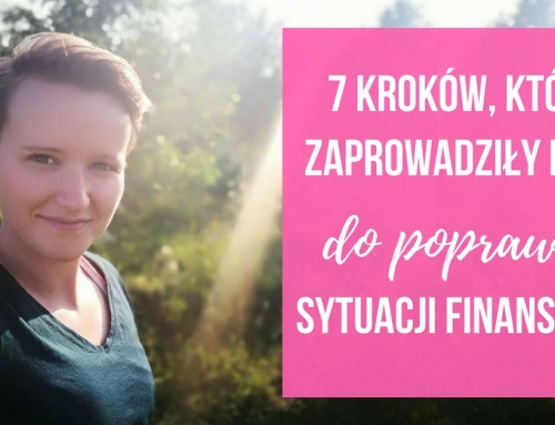 TV: 7 kroków, które zaprowadziły mnie do poprawy sytuacji finansowej
