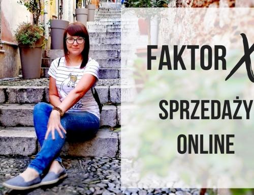 Faktor X w sprzedaży online?!